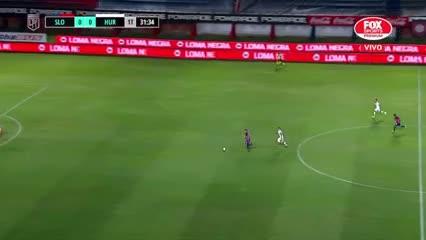 Franco Di Santo aprovechó un contraataque y abrió el marcador