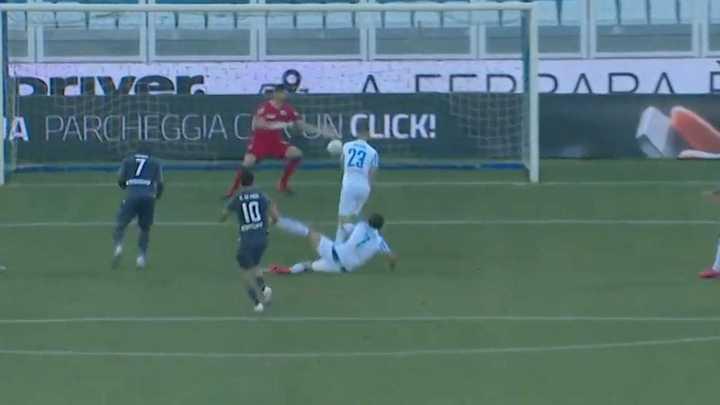 Rodrigo De Paul abrió la cuenta para Udinese
