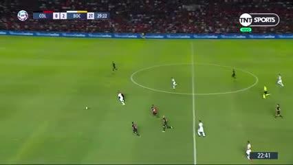 Los cuatro goles de Boca