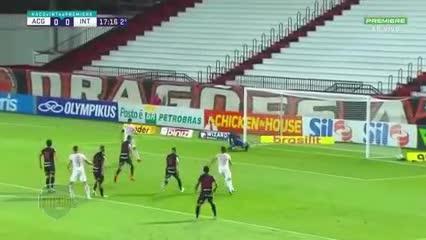 El 0-0 de Inter de Porto Alegre ante Goianiense
