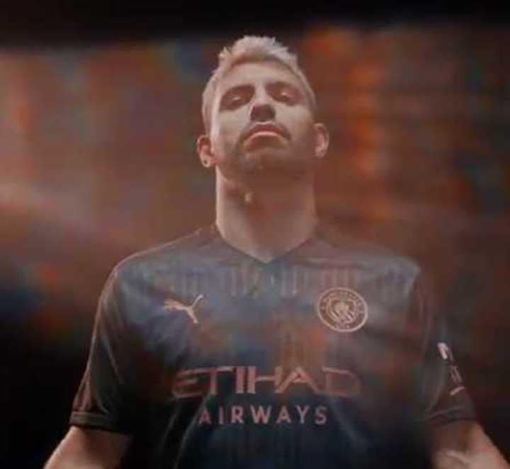 La particular nueva camiseta alternativa del Manchester City