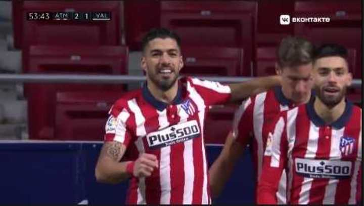 El Atlético lo dio vuelta y venció 3-1 al Valencia