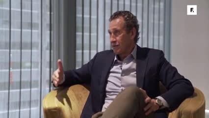 """Valdano sobre Gallardo: """"A lo mejor te digo que está para dirigir al Real Madrid""""."""