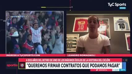 "Pipi Romagnoli: ""Queremos firmar contratos que podamos pagar"""