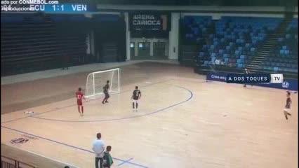 Lo mejor de Andrés TeranyÓscar Fernández, figuras de la selecciónSub 20