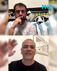 El Oveja habló del futuro y de su relación con Bianchi