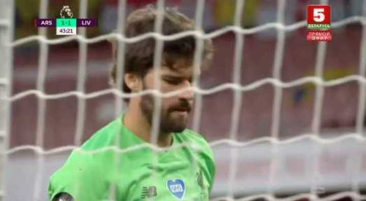 Los goles del Arsenal contra el Liverpool