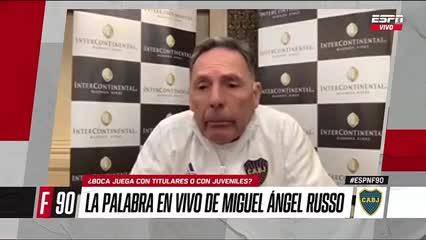 Russo y el VAR luego de la Libertadores