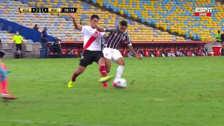 ¿Era penal para Fluminense?