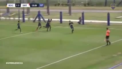 Los goles de la Octava de Boca
