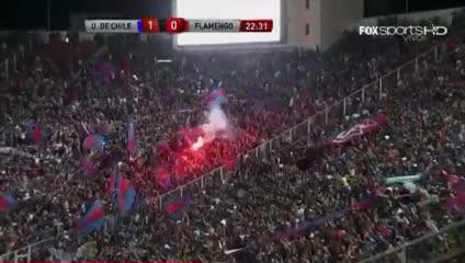 Gol de Marcelo Díaz a Flamengo