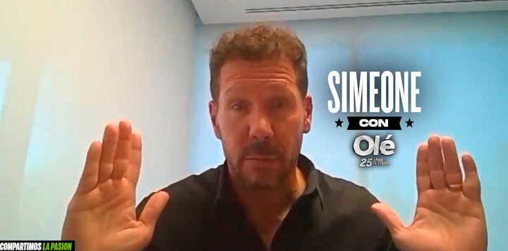"""Simeone y el trasfondo de """"lo único que sirve es ganar"""""""