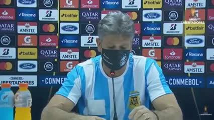 La conferencia de Renato tras la muerte de Maradona