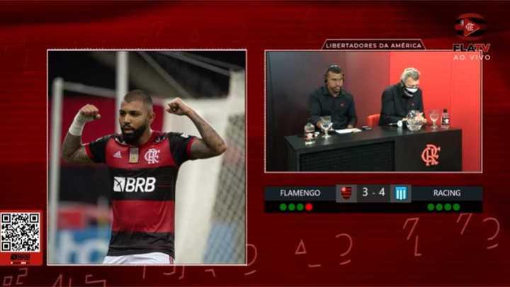 Así relataban los periodistas de Flamengo la eliminación ante Racing