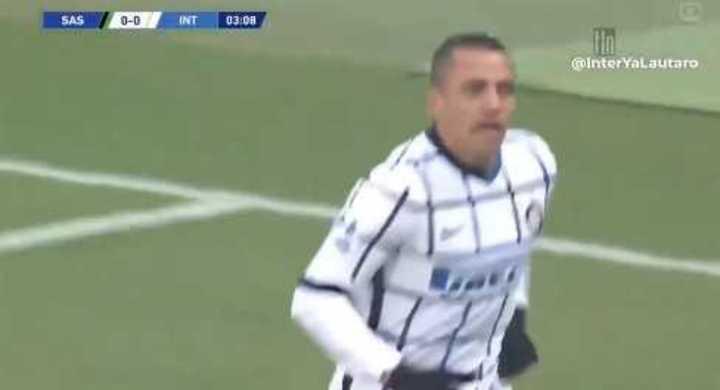 Gol de Sánchez para el Inter