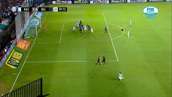 El gol que le anularon a Cvitanich