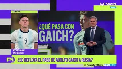 La palabra de Gaich sobre su posible pase