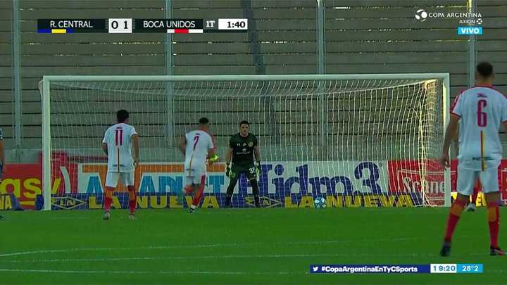 Boca Unidos se impuso con un gol de penal