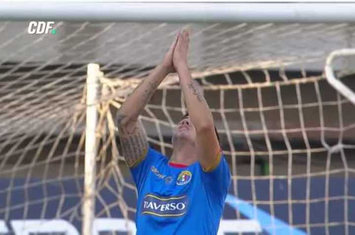 El gol de Holgado y un gesto que lo dice todo