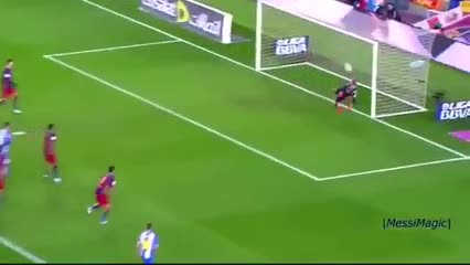 Todos los goles de Messi de tiro libre