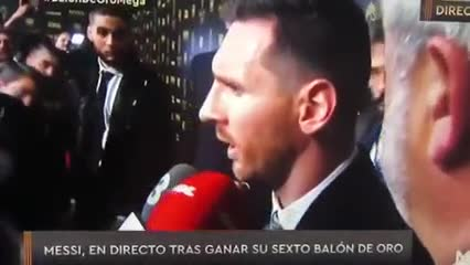 La pica de Messi post Balón de Oro