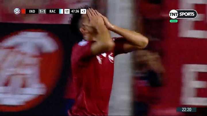 El Rojo insistió y lo empató por medio de Gaibor