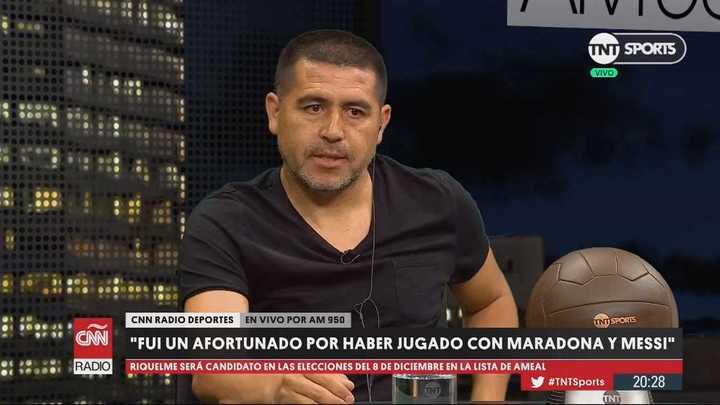 """""""Fuera del fútbol, no me interesa lo que hace y dice Maradona"""""""