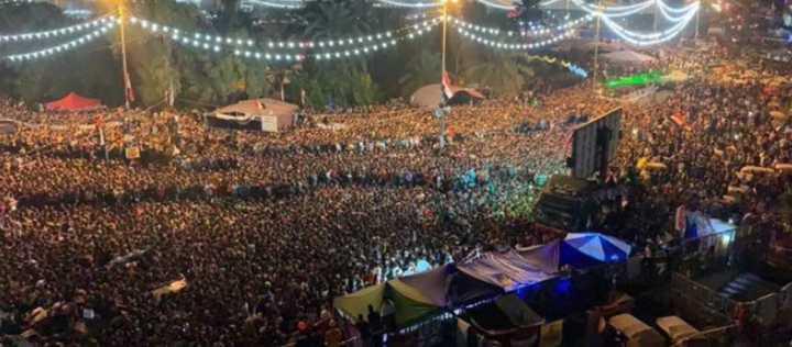 Irak venció Irán y una multitud salió a las calles a celebrar