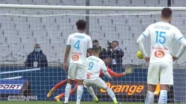 El gol de Benedetto para el Olympique