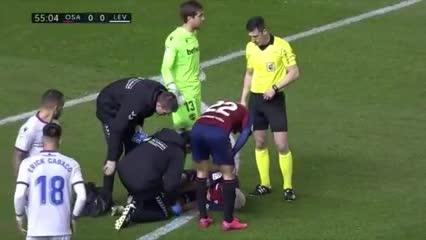 La lesión de Chimy Ávila ante Levante