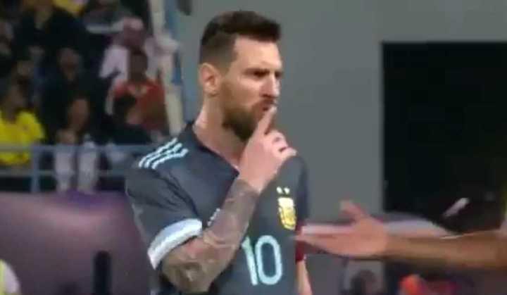 Messi lo mandó a callar a Tite