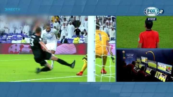 El VAR le anuló un gol a Al-Ain