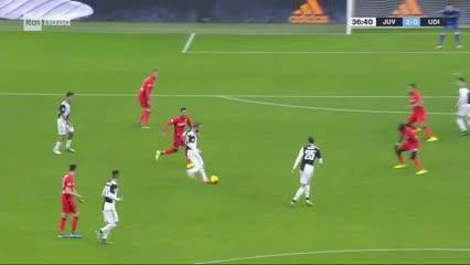 Cristiano metió el segundo del partido