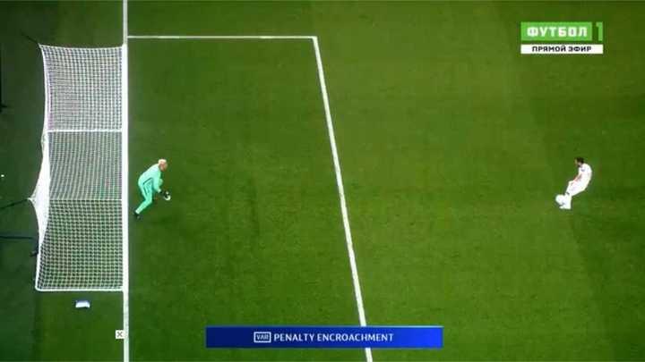 Penal repetido por VAR y gol del United