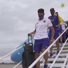 Así llegaba Boca a San Juan