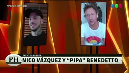 Nico Vázquez y sus asados con Messi