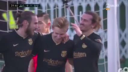 Los goles de Barcelona ante Elche