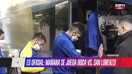 Los jugadores de Boca dejaron la concentración