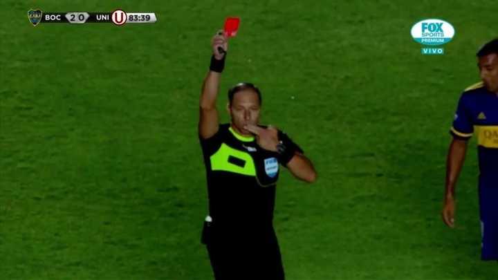 Wanchope expulsado por hablarle al árbitro