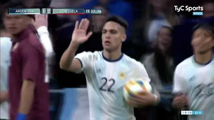 Descontó Lautaro