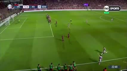 Bou marcó el 1 a 0 de Unión