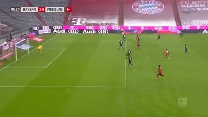 El gol 21 de Lewandowski en la Bundesliga