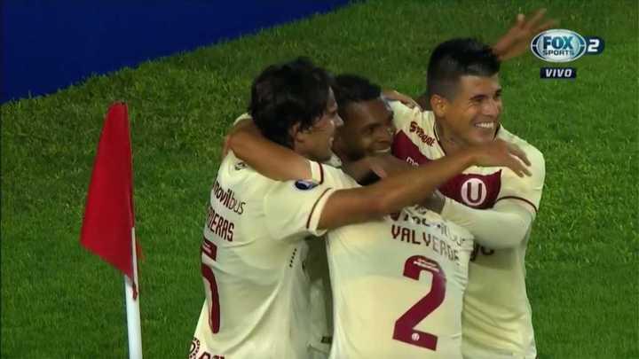 Universitario marcó el 1 a 0
