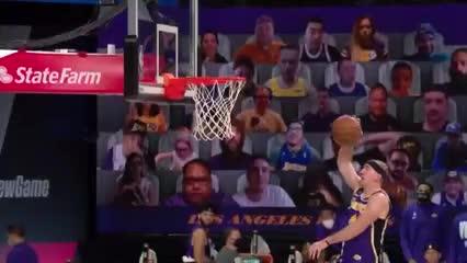 Las mejores cinco jugadas del 5° partido entre Lakers y Nuggets