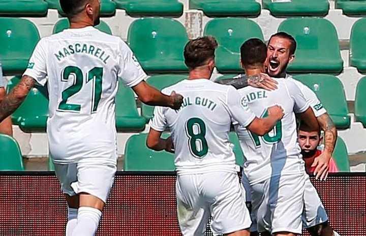 El primer gol de Darío Benedetto en el Elche
