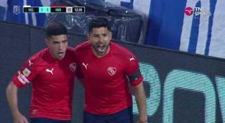 Romero empató el partido