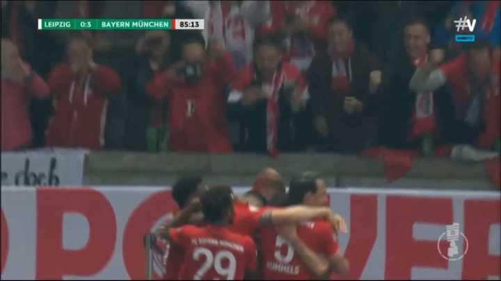 El Bayern Munich goleó a Leipzig por la Copa de Alemania