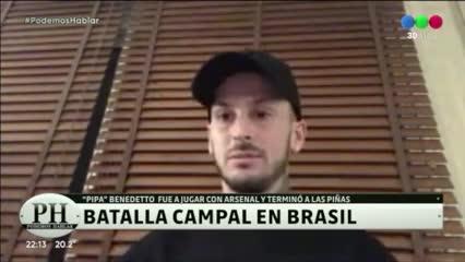 La anécdota de Benedetto en Brasil
