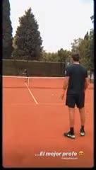 Delpo y Jujuy, a puro tenis