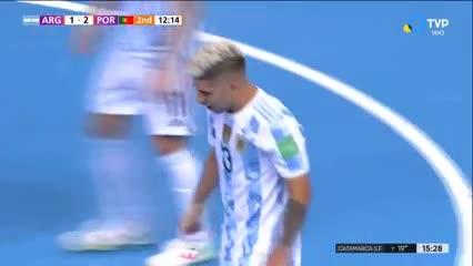 Claudino descontó para Argentina